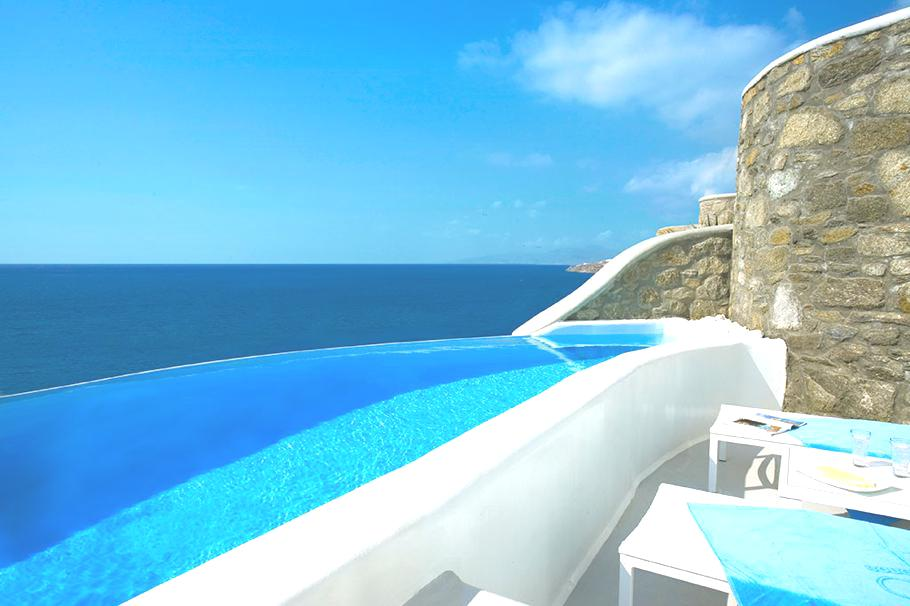 The Luxury Cavo Tagoo Hotel Greece Architecture amp Design