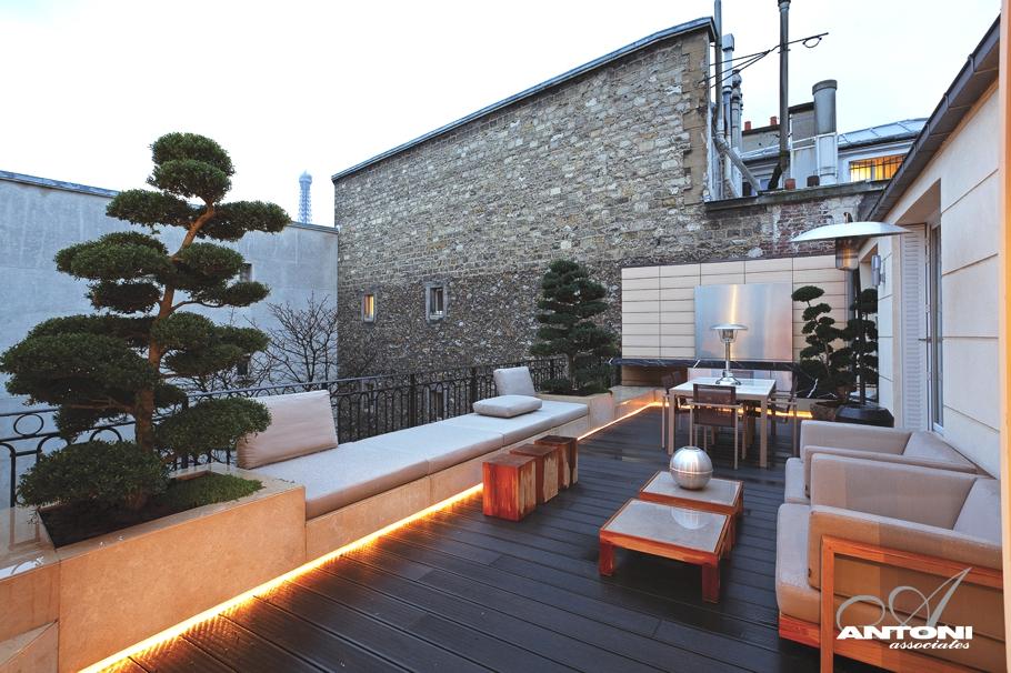 Magnificent Luxury Penthouse Apartment In Paris