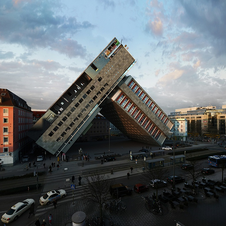 Playing with Architecture in Munich | Architecture & Design