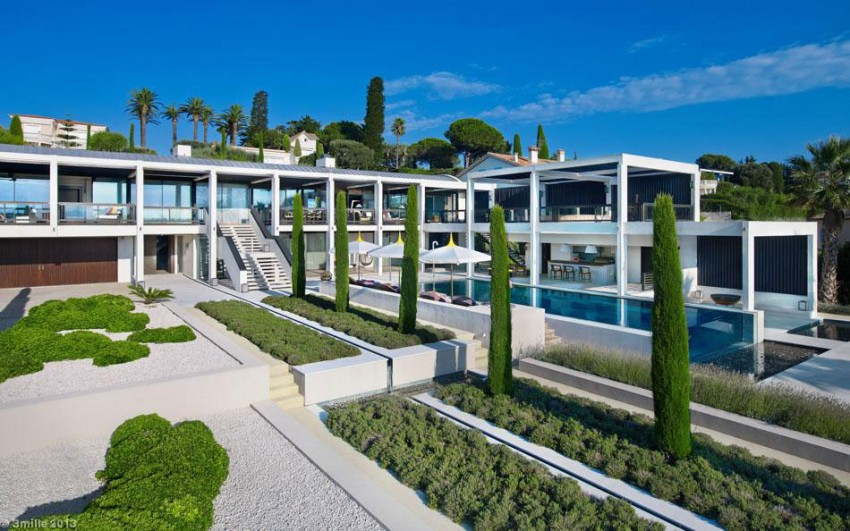 Luxury Modern Villa on Cap d'Antibes