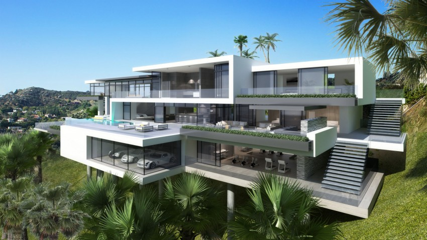 Modern Mansion On Sunset Plaza Drive 03 850x478