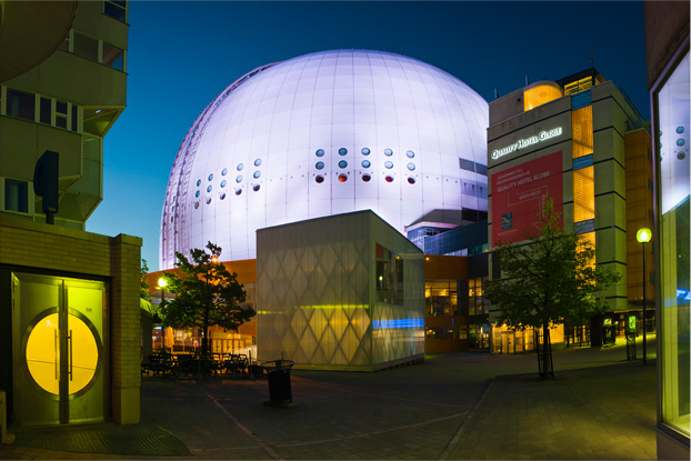Speaking of leisure activities, the Ericsson Globe, a sports arena in Stockholm, holds a number of records. With a diameter of 361 feet (110 meters), an inner height of 279 feet (85 meters) and a volume of 21,188,800 cubic feet (600,000 cubic meters), it stands as the world's largest spherical structure. And, amazingly, it didn't take long to get that way. Workers broke ground on Sept. 10, 1986, and the building opened for business on Feb. 19, 1989. That means the entire construction process took just 2.5 years. The size of the Ericsson Globe makes it perfect for more than hockey games and live entertainment. It also plays a role in the world's largest educational model. You heard right. The astronomy department at Stockholm University decided to depict the proper scale of our planetary system using structures spread across the Swedish countryside. The Globe serves as stand-in for the sun, which establishes the model's scale to be 1:20,000,000. All of the inner planets are located within Stockholm city limits, but the outer planets range far to the north. For example, Neptune resides in Söderhamn, which is 153 miles (246 kilometers) from the Globe, and the dwarf planet Pluto in Delsbo is 186 miles (300 kilometers) away. There's a host institution for each model, so tourists can travel to the planets without ever getting lost in space.