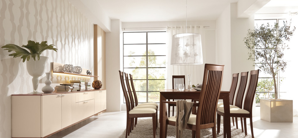 1 Wood Dining Table And Chairs