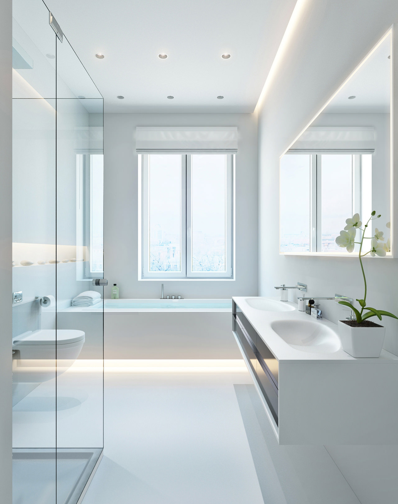 Three Apartments with Extra Special Lighting Schemes | Architecture ...