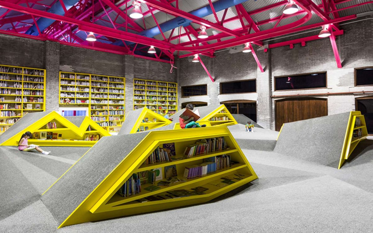 BEST LIBRARY (Popular/Jury): Ninos Conarte, Mexio, Anagrama