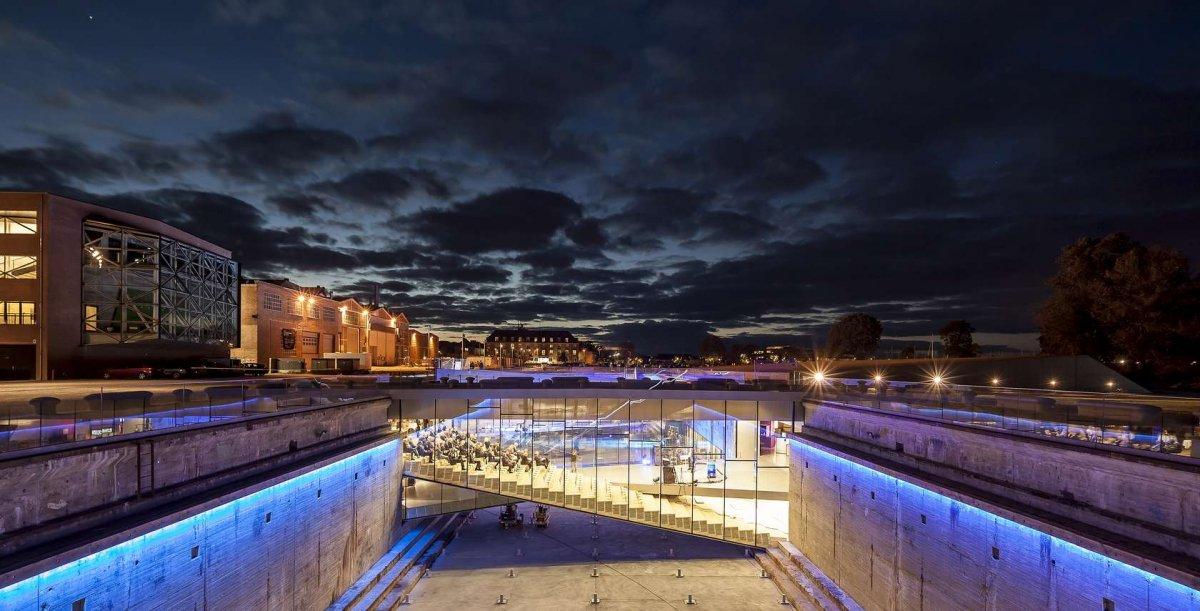 BEST MUSEUM (Jury): Danish National Maritime Museum, Denmark, Bjarke Ingels Group