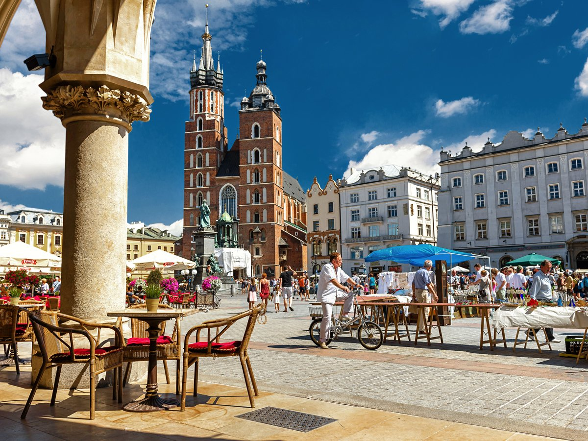 Market Square of Krakow, Poland