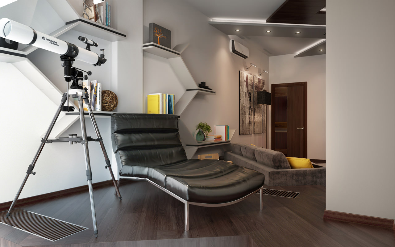 19-Modern-leather-chaise