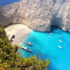 The Most Beautiful Beach of Greece, Navagio Beach