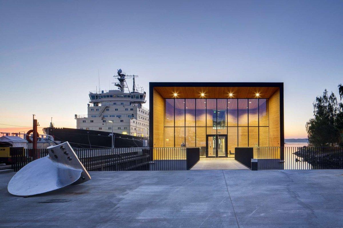 BEST OFFICE LOW RISE (Popular): Arctia Headquarters, Finland, k2s