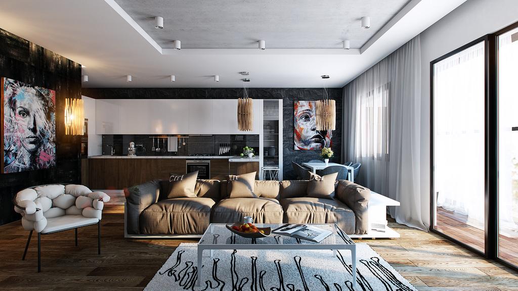 25-black-wall-studio-apartment