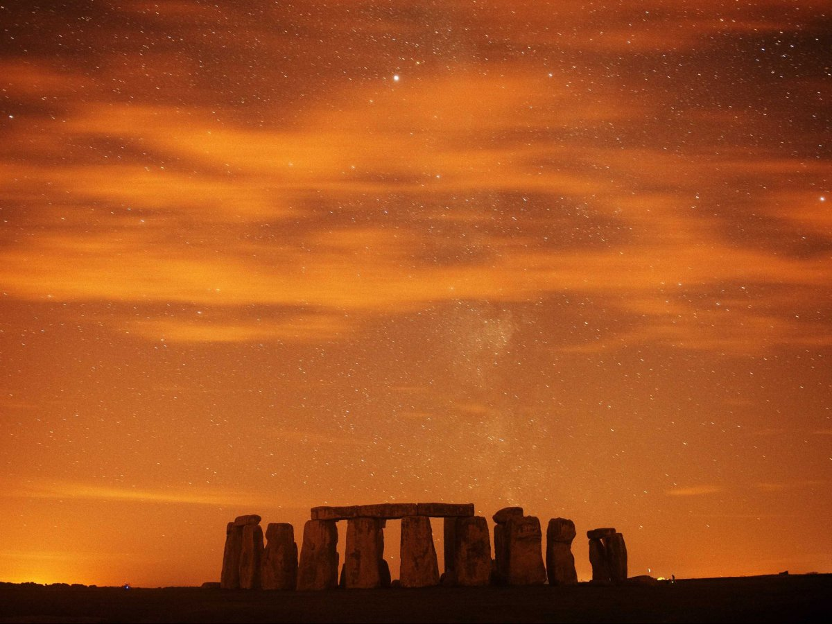 Stonehenge, in southern England