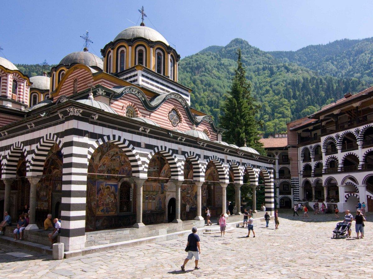 Rila Monastery, Bulgaria : Wikimedia Commons