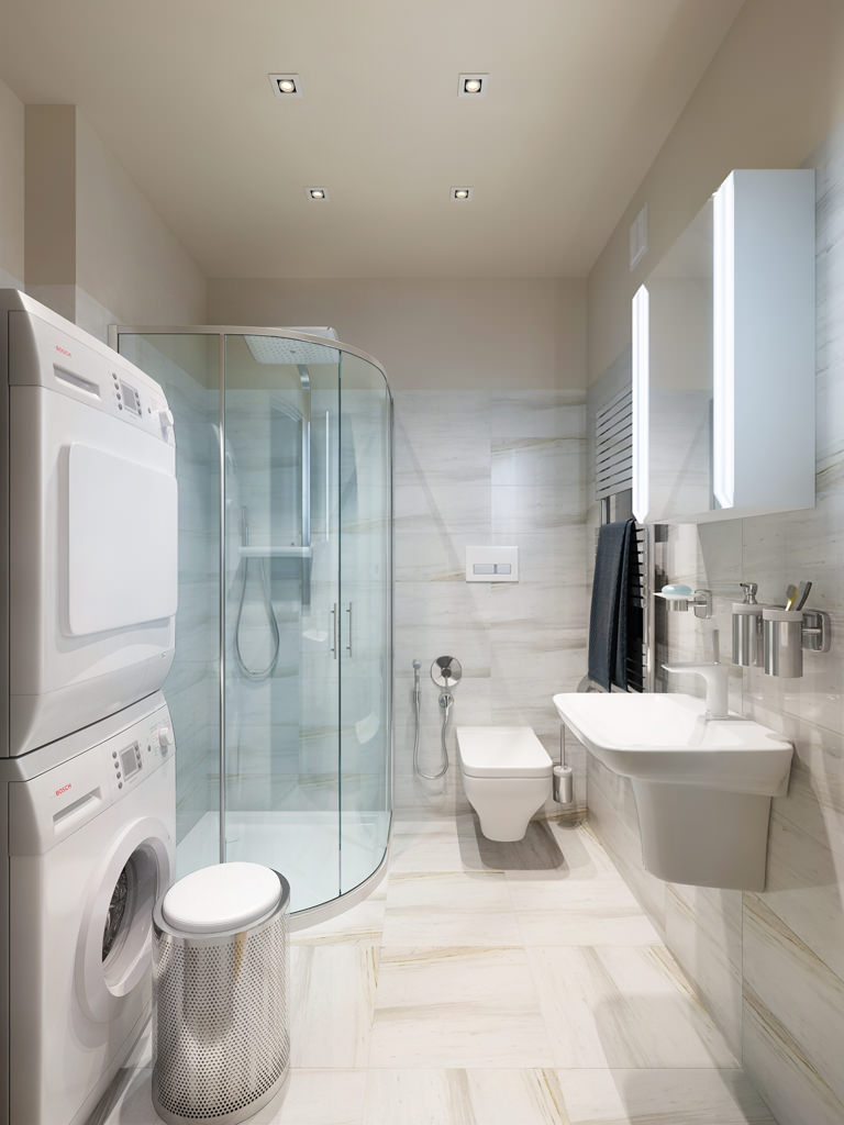 Three apartments with extra special lighting schemes - How to layout a bathroom remodel ...