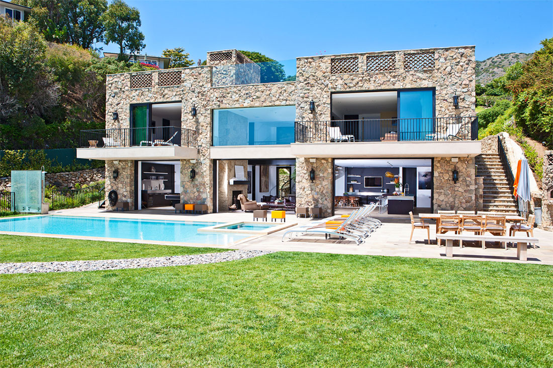 multi-million dollar house on malibu beach! | architecture & design