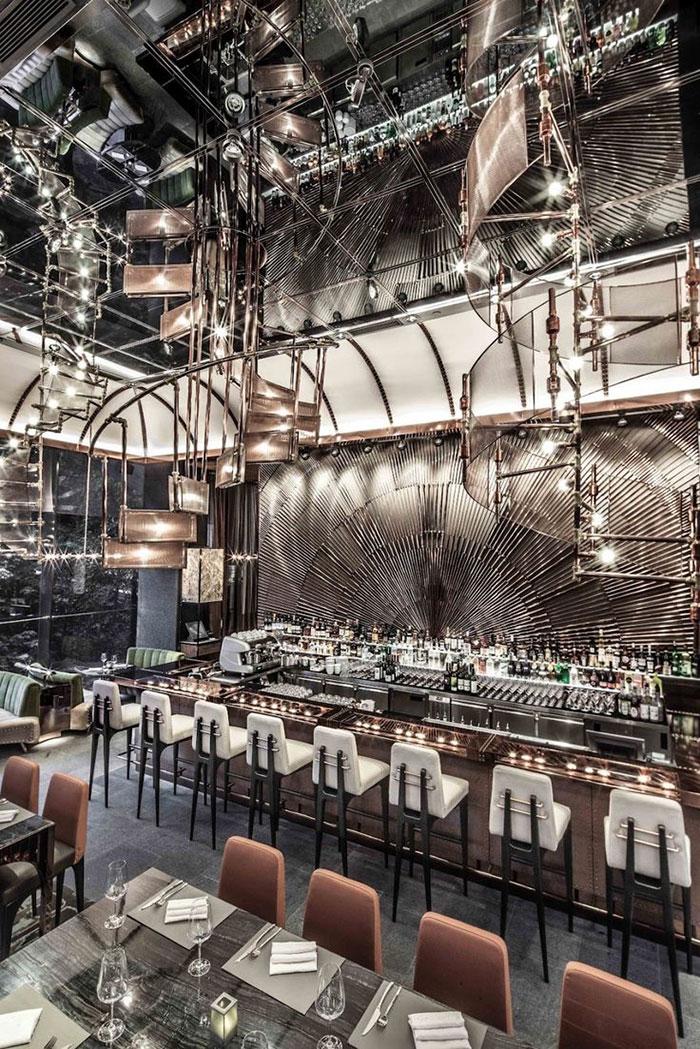 19 Of The World S Best Restaurant And Bar Interior Designs Architecture Design