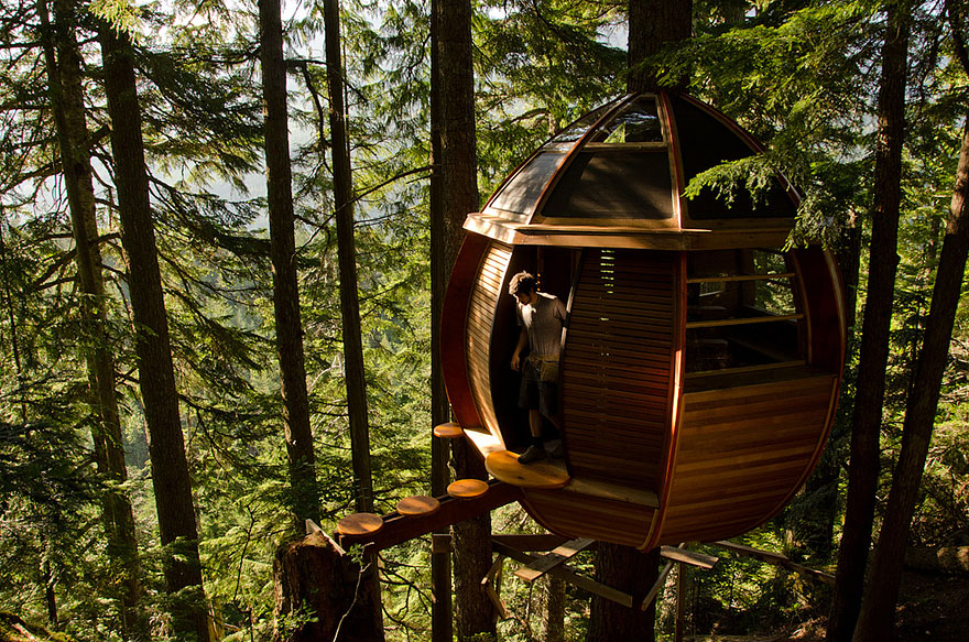 15 Of The Most Amazing Treehouses From Around The World Architecture Amp Design