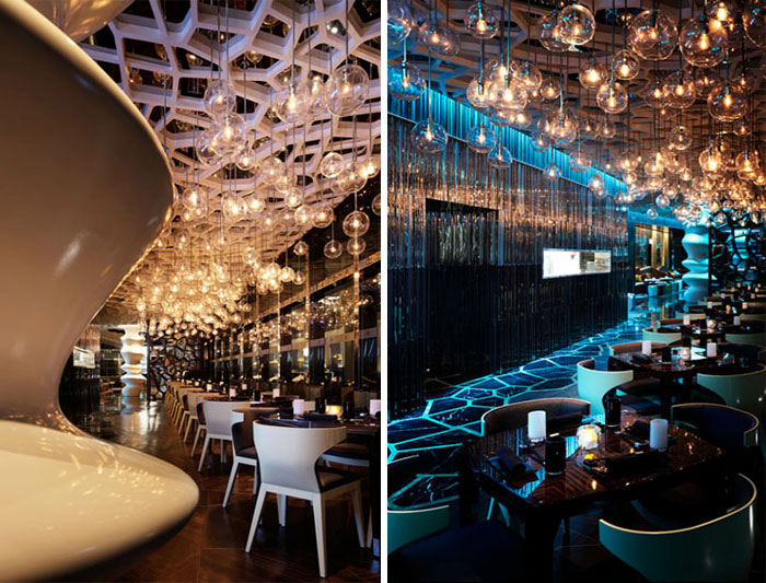 19 of the world s best restaurant and bar interior designs for Ristoranti design