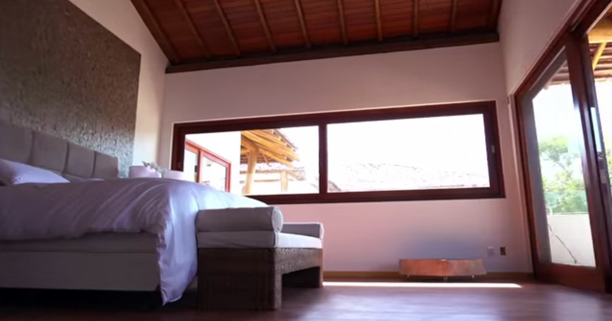 The rooms have a ton of natural light.