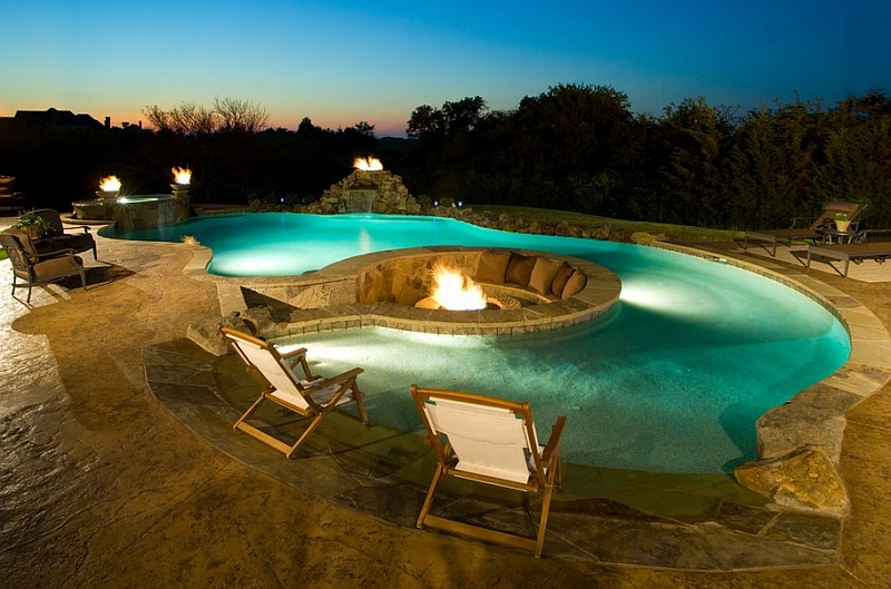 9-Gorgeous-pool-area-with-a-fire-pit-and-sunken-lounge-at-its-heart
