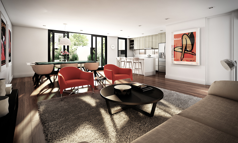 Studio apartment interiors inspiration architecture design for Studio interior design brescia