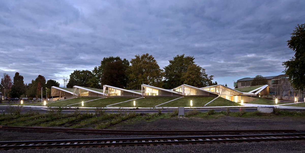BEST GOVERNMENT BUILDING (Jury): Columbia Building, Portland, Skylab Architecture