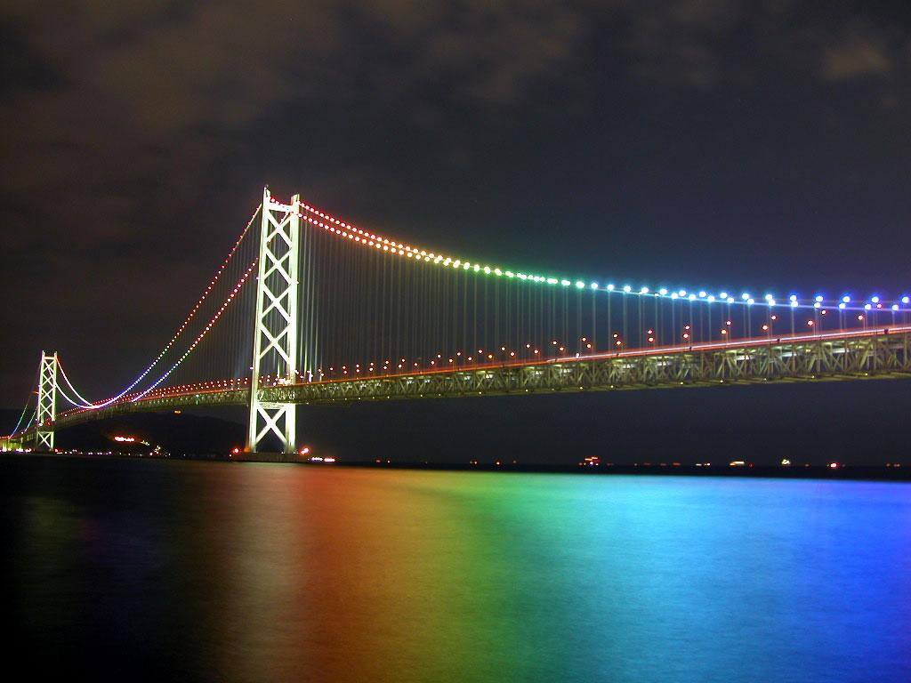 Akashi Kaikyo Bridge Tokyo