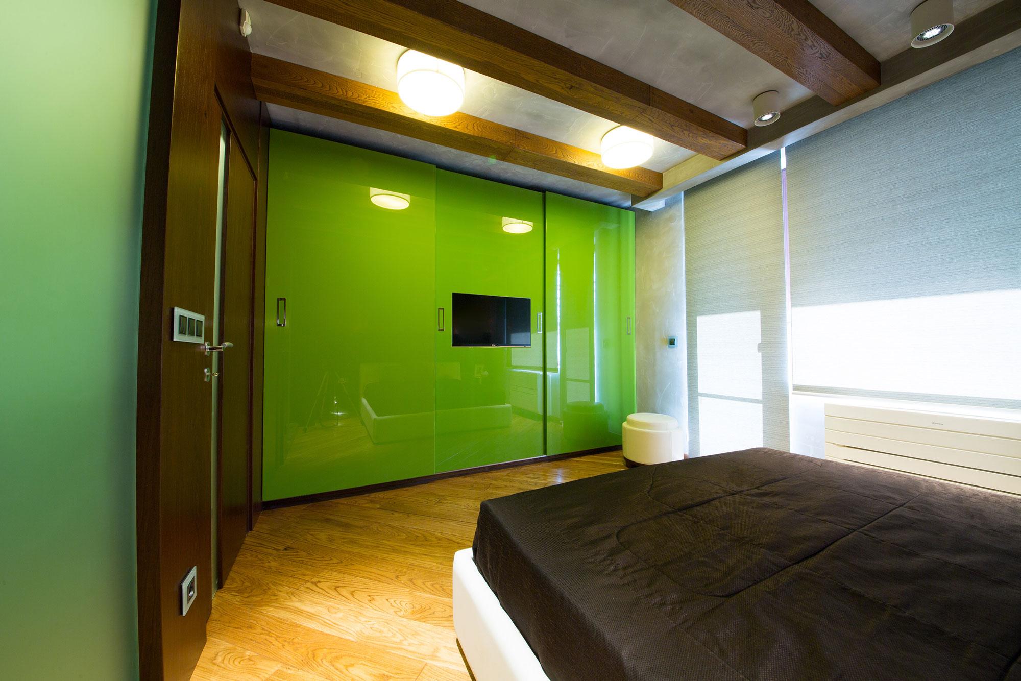 apartment 120 sq meters by m2 design studio. Black Bedroom Furniture Sets. Home Design Ideas