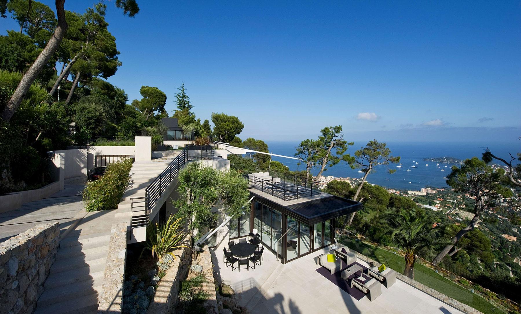 Bayview Villa In Villefranche Sur Mer C Te D Azur Architecture Design