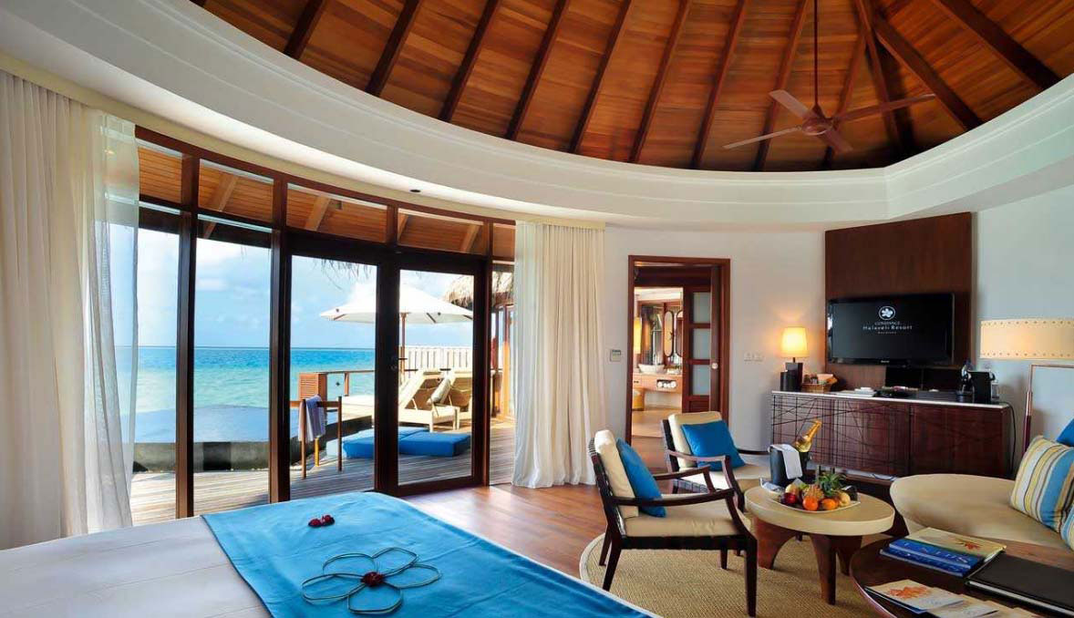 resort home design interior constance halaveli maldives resort in the maldives 21518