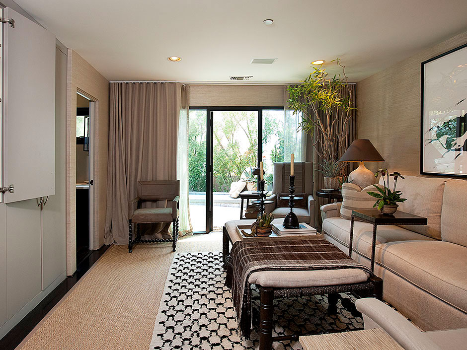 Contemporary meets traditional on sunset strip - Architecture interieurs contemporains sunset strip ...