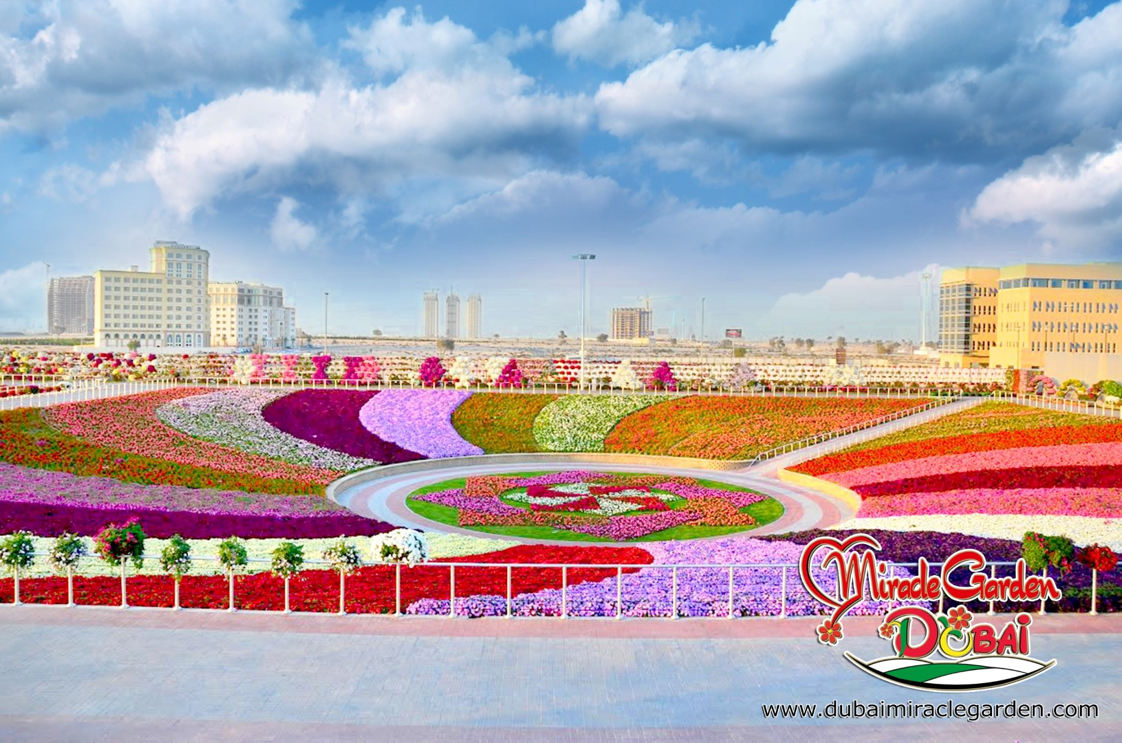 Dubai Miracle Garden The World S Biggest Natural Flower