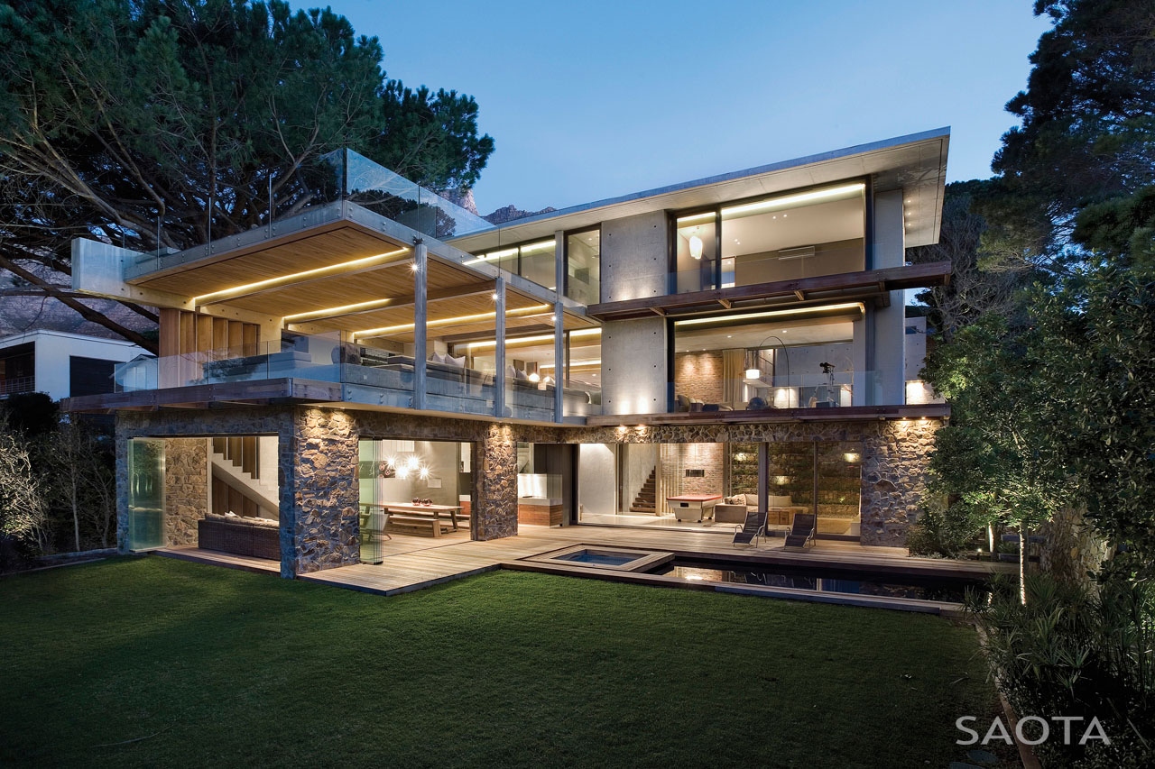 Light Steel Frame Structures Cape Town South Africa: Glen 2961 House By SAOTA And Three 14 Architects