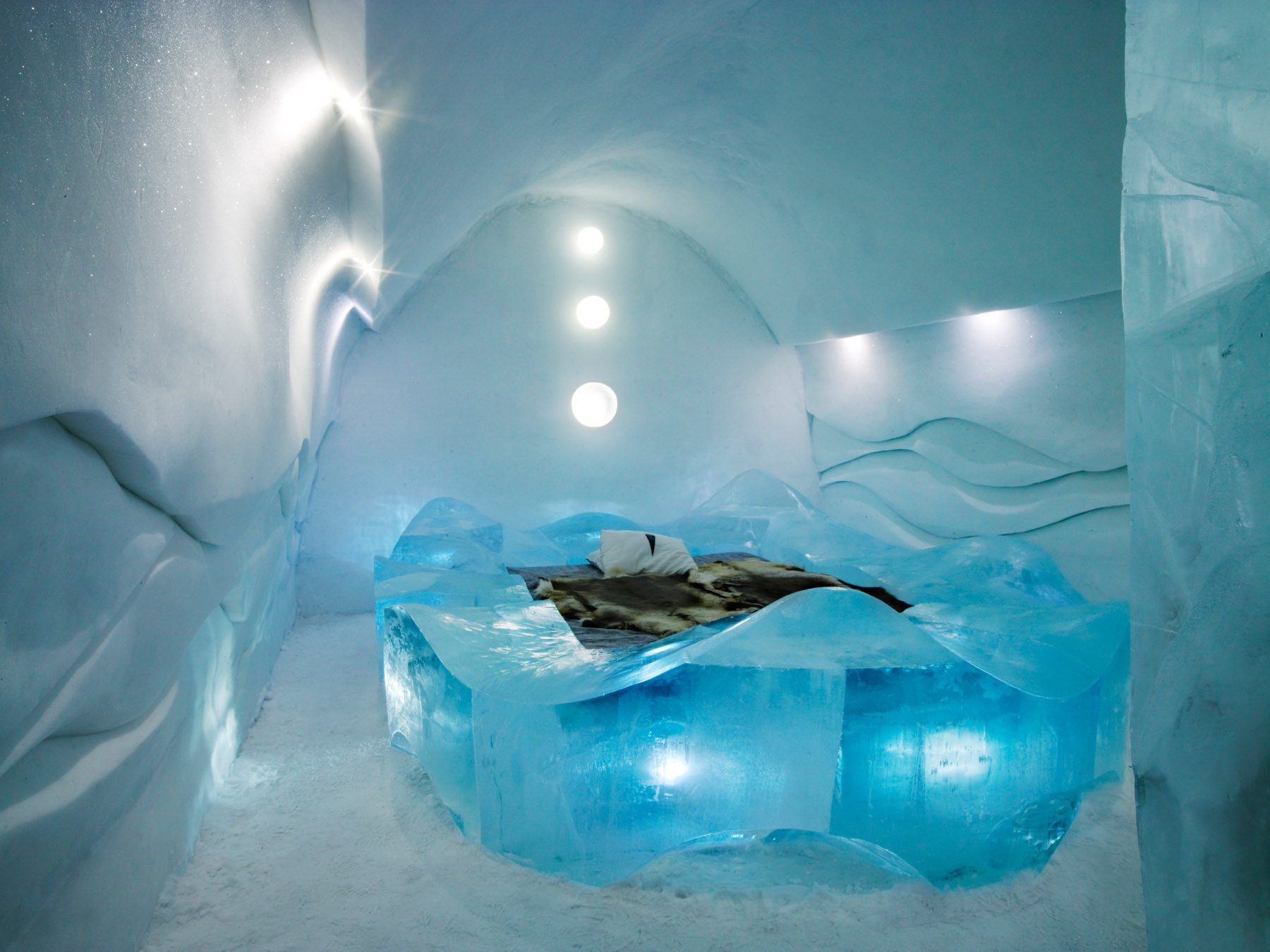Ice Blue Room