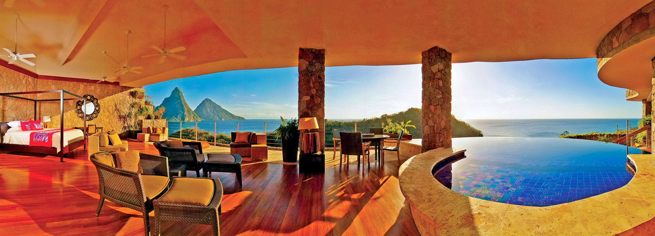 Who Makes Infinity >> Jade Mountain | Architecture & Design