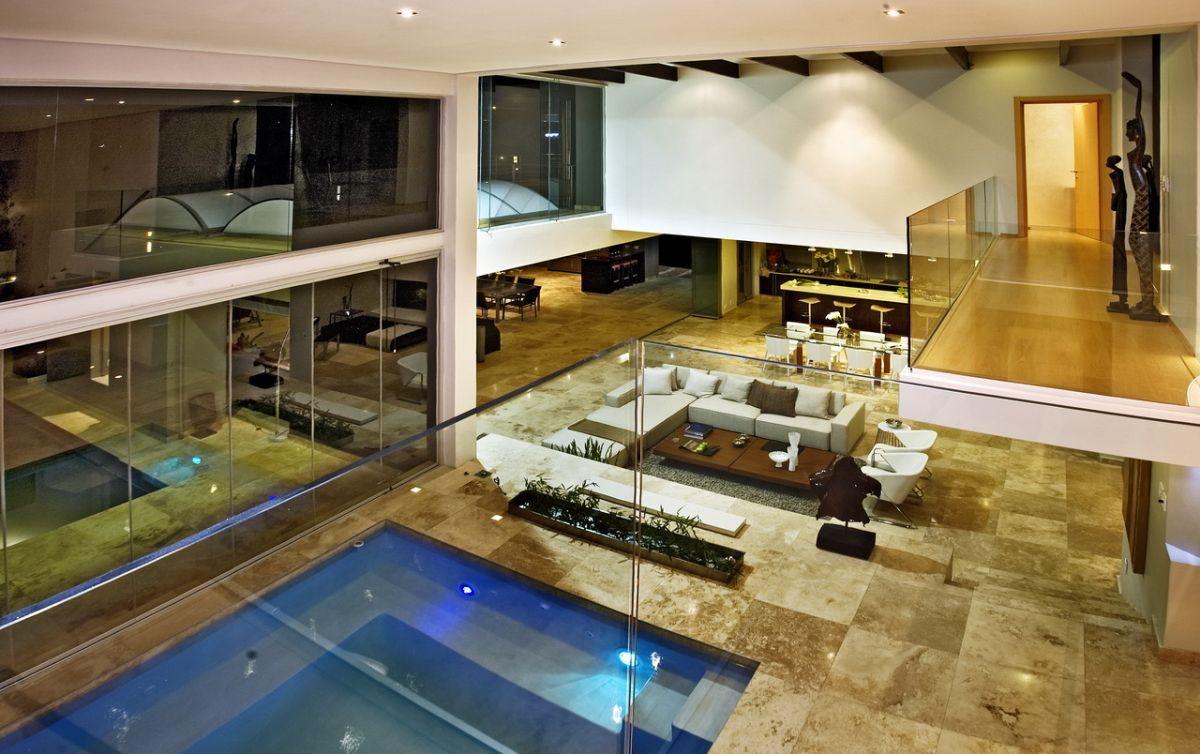 House Interior Architecture joc house, a dream home in south africanico van der meulen