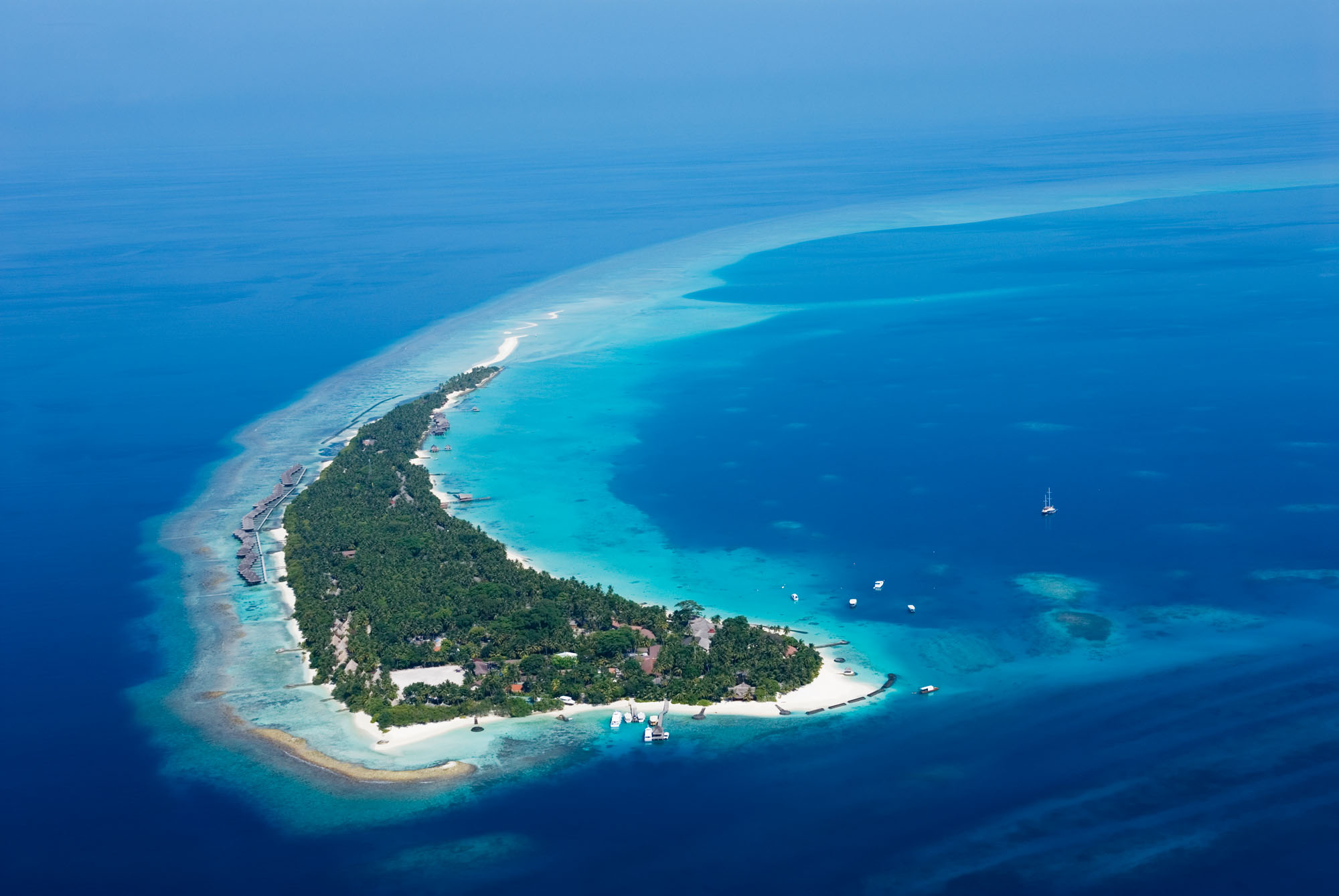 Kuramathi Island Resort Maldives Map