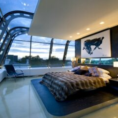 Incredible Penthouse in London by Richard Hywel Evans Architects
