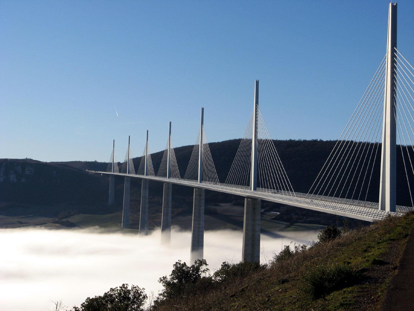 Millau Viaduct Bridge France