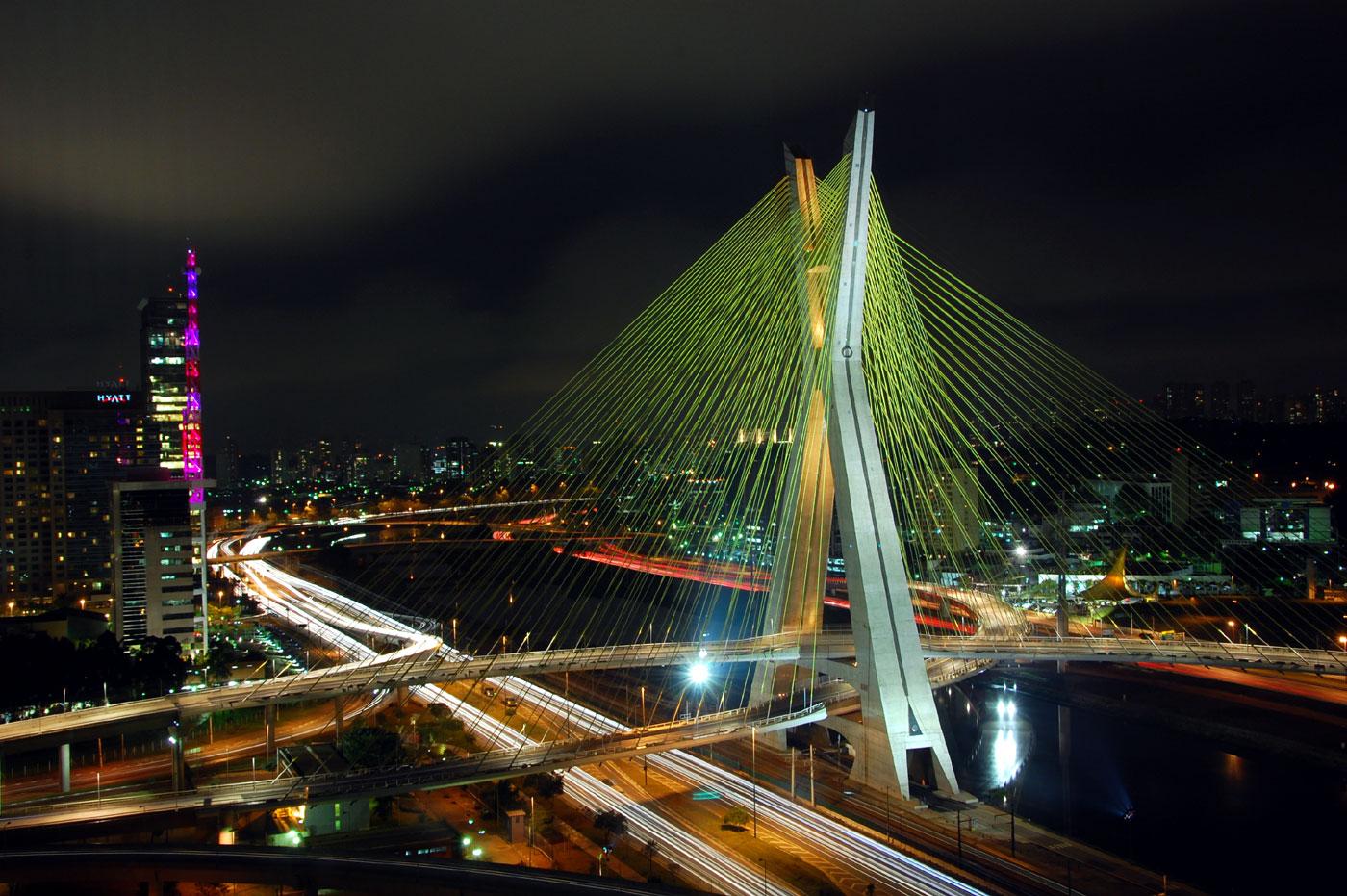 Octavio Frias de Oliveira Bridge Brazil