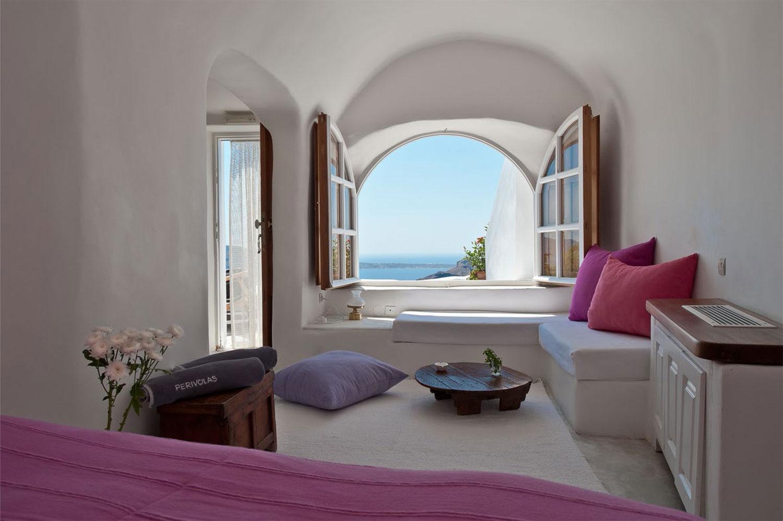 perivolas oia santorini architecture design. Black Bedroom Furniture Sets. Home Design Ideas