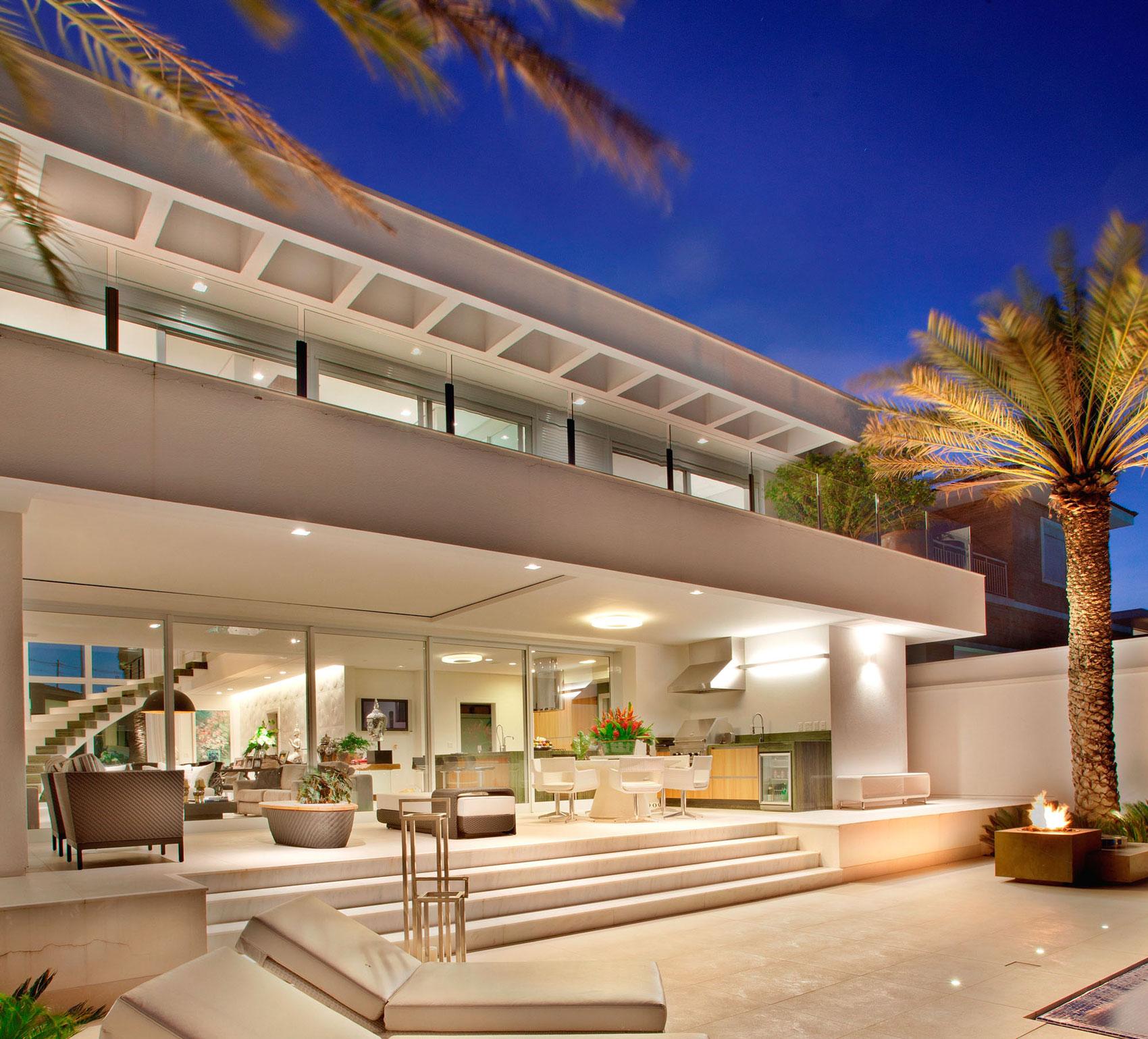 Residencia nj by pupogaspar arquitetura architecture - Sublimissime residencia nj pupogaspar arquitetura ...