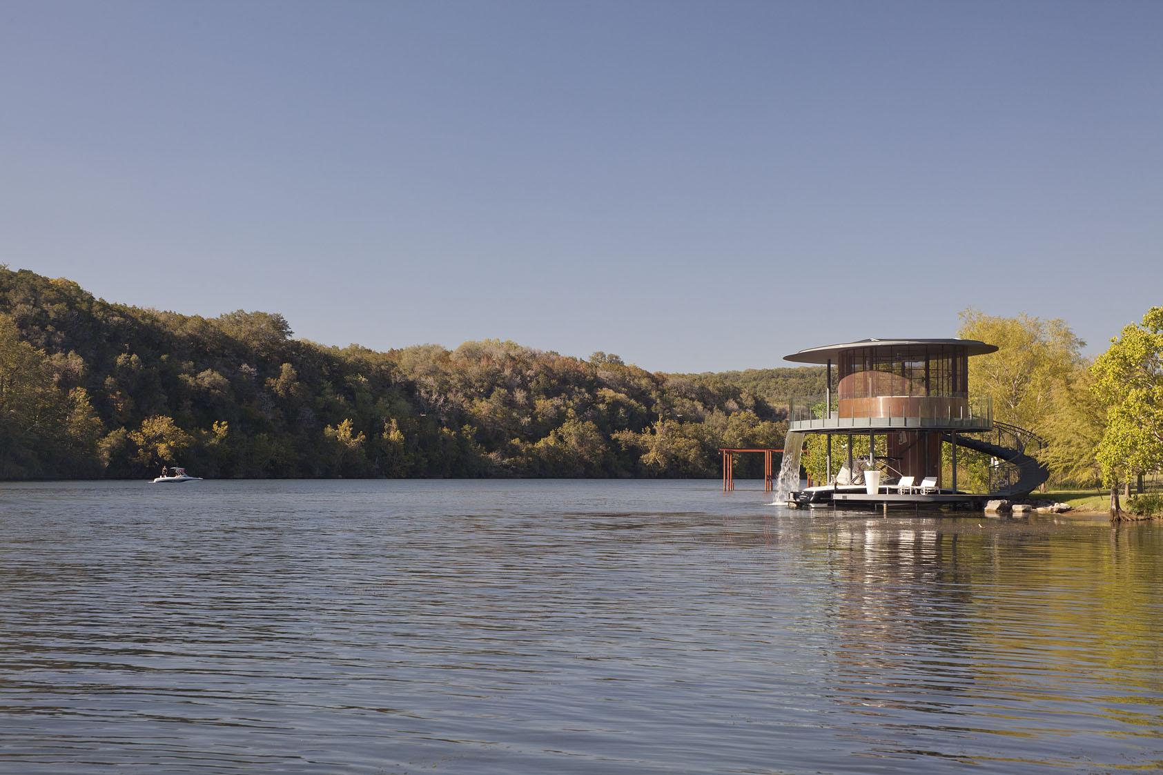 Shore Vista Boat Dock By Bercy Chen Studio Architecture
