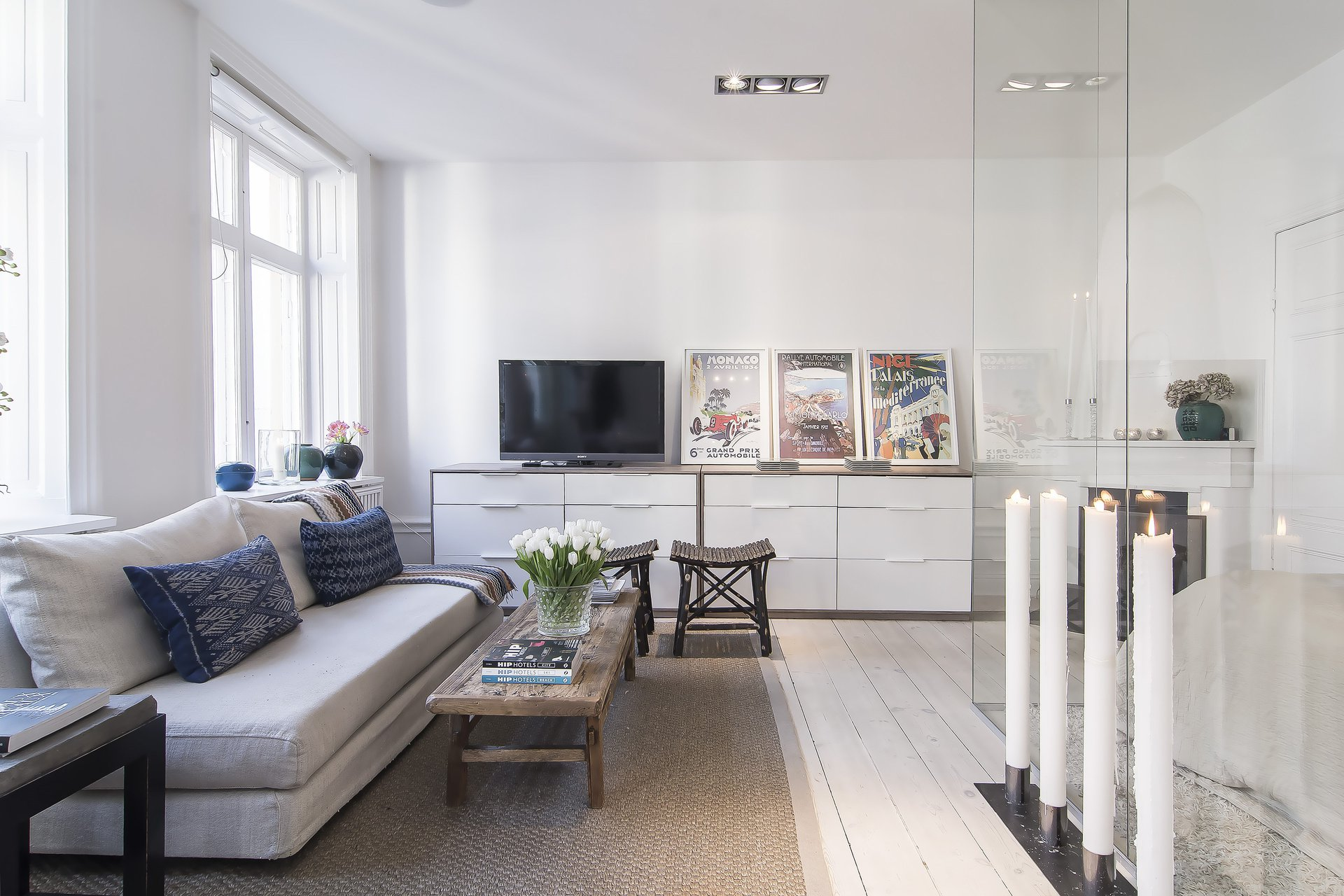 Scandinavian Design Small Yet Stylish Flat In The Heart Of Stockholm Architecture Design