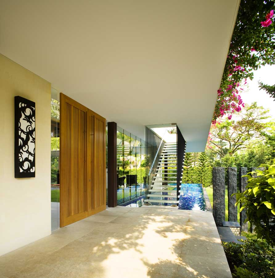 Modern Architecture Home Design: Tangga House By Guz Architects