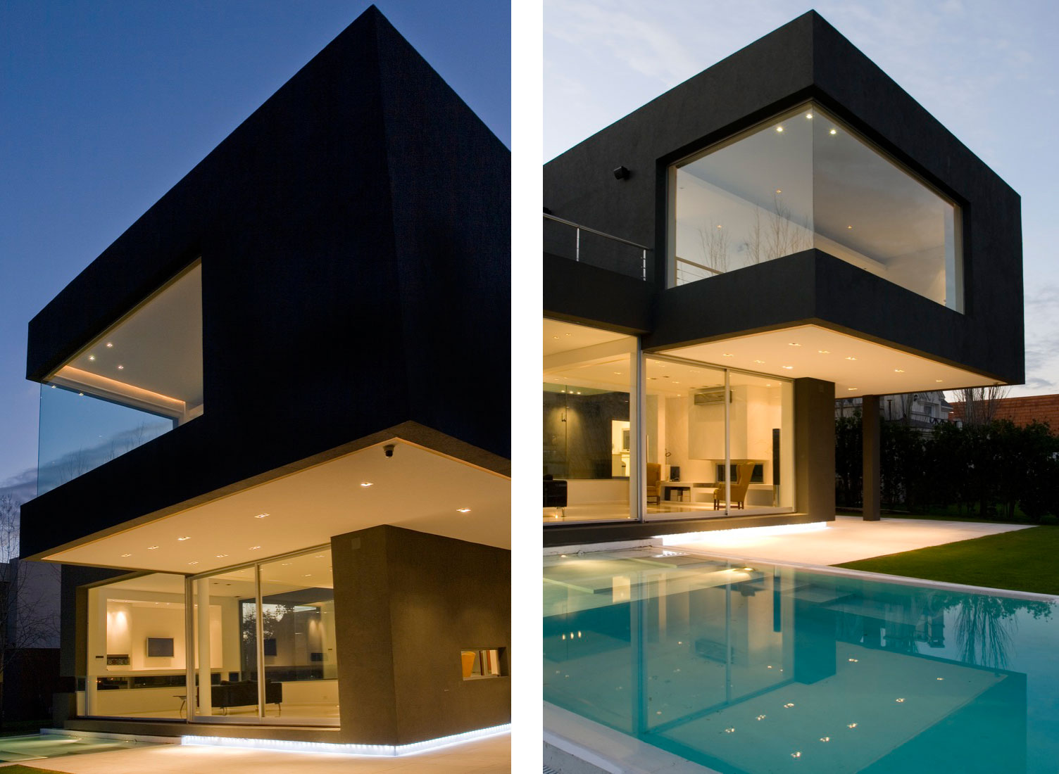 The black house by andres remy arquitectos architecture for Home by design