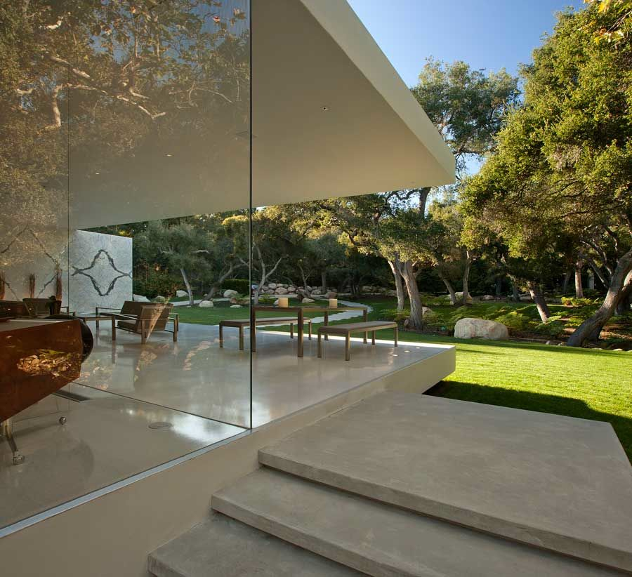 Home Design Ideas Architecture: The Glass Pavilion, An Ultramodern House By Steve Hermann