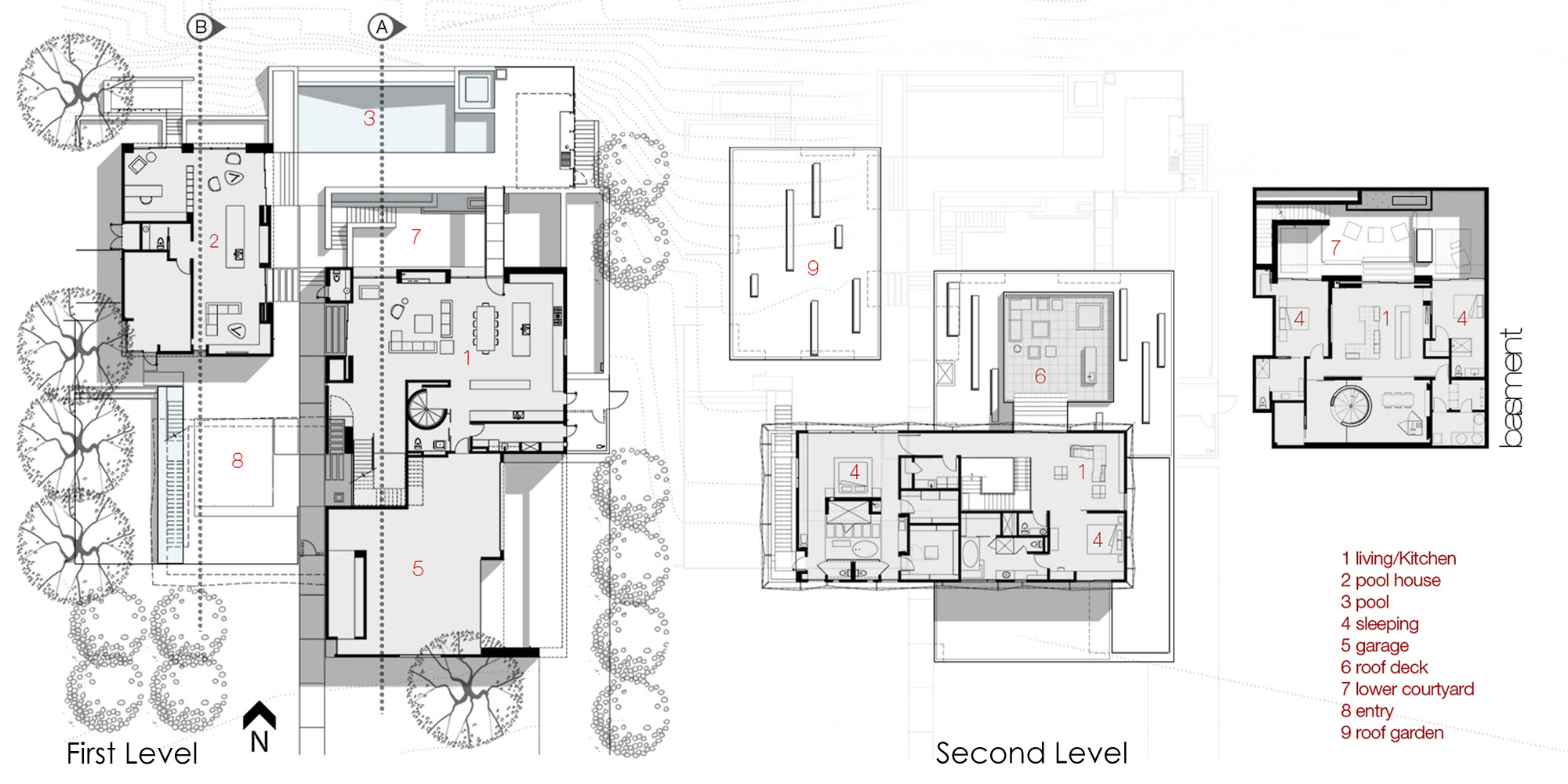 Moroccan House Plans Architectural Design