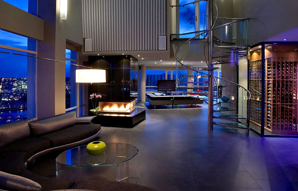 Stunning Penthouse In Vancouver By Feenstra Architecture