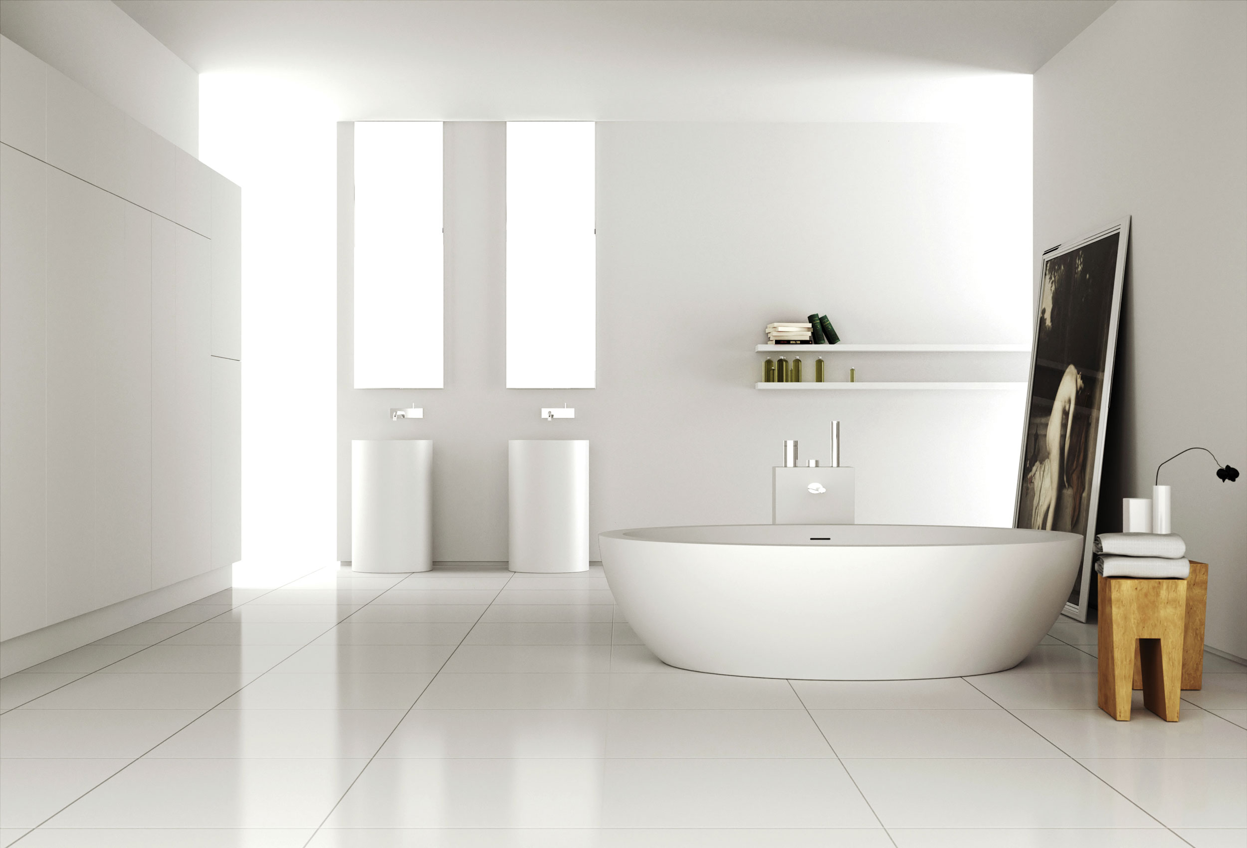 Modern Bathrooms by MOMA Design | Architecture & Design